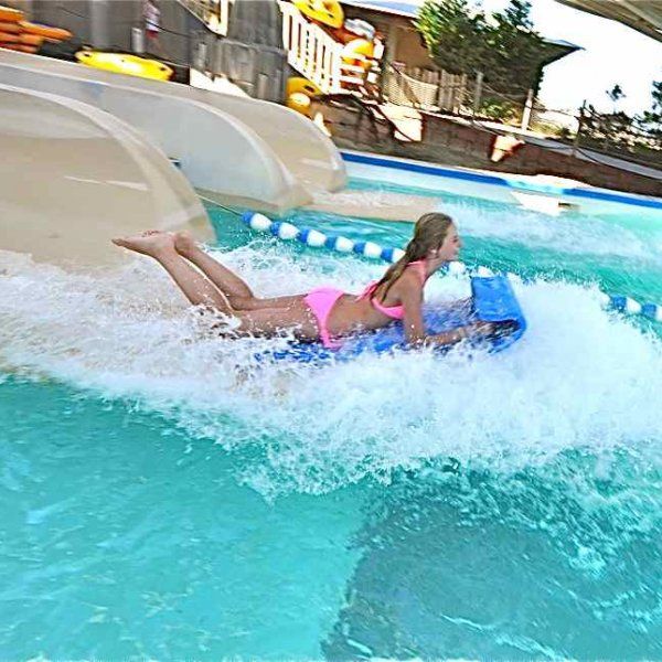 Raging Rapids Xtreme Inflatable Water Slide: Morey's Piers